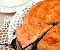 Kruche ciasto z powidłami