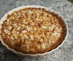 Tarta owsiana z karmelizowanymi jabłkami