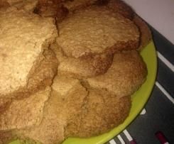 Ciasteczka owsiane z orzechami włoskimi