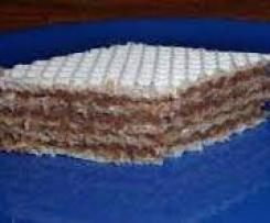 Piszinger, andrut z masą czekoladową