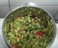 Sałatka brokułowo-paprykowa