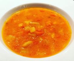 Zupa z kiszonych pomidorów