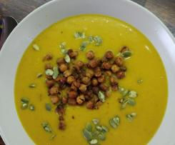 Zupa krem z dyni i batata