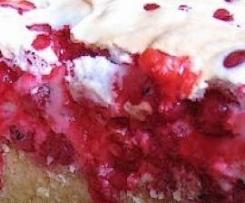 Ciasto z porzeczkami (malinami)