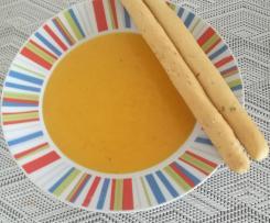 Zupa dyniowa krem z gałką muszkatołową