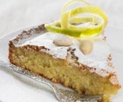 Ciasto migdałowe z Santiago