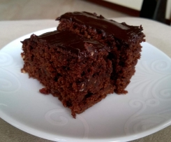 Ciasto z cukinii BROWNIE