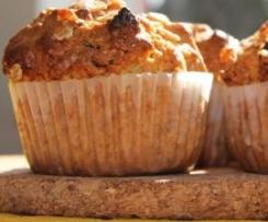 Owsiane muffiny do szkoły na II śniadanie