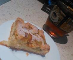 Ciasto rabarbarowe na majonezie