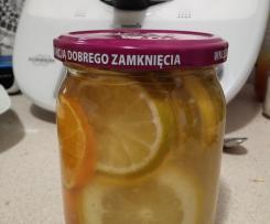 Limonki, cytryny, mandarynki w syropie imbirowym