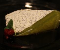 sernik na zimno z nasionami Chia