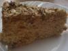 Bezglutenowe ciasto z kaszy jaglanej