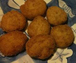nuggetsy z sosikiem czosnkowym