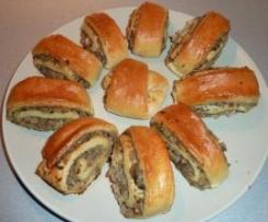 Świąteczne paszteciki z pieczarkami i mięsem :-)