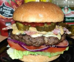 Bacon Cheeseburger / burger z dużym kotletem, warto sprawdzić ten przepis