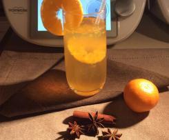 Grzaniec z mandarynkami