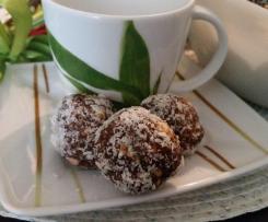 Kuleczki czekoladowo-kokosowe