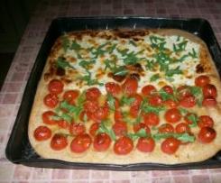 Pizza z maki razowej