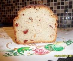 Chleb na zakwasie z żurawiną