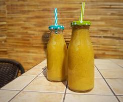 Orzeźwiające smoothie z kiwi i ogórków