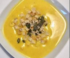 Krem z dyni - szybka pikantna zupa