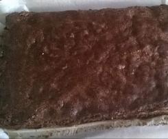 Ciasto z białek czekoladowe (bez mąki)
