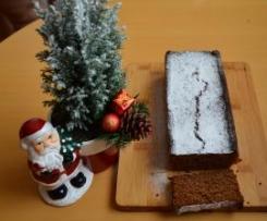 Ciasto daktylowe z mąki zytniej z pełnego przemiału