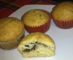 Muffiny z marmoladą