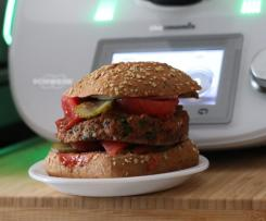 Burger z fasoli czerwonej kidney warzywny dla smakoszy dzieci i nie tylko Vegan