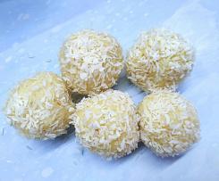 Pralinki kokosowe z kaszą jaglaną