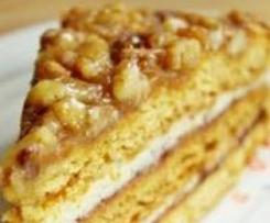 Ciasto miodowo-orzechowe Ulki