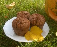 Muffinki dyniowe z jabłkiem i cynamonem