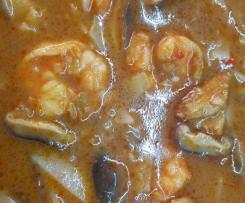 Zupa TOM YUM z shitake