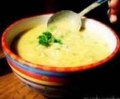 Zupa Krem -Brązowy Ryż i Kurczak