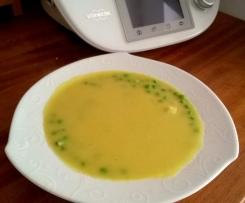 zupa czosnkowa z cukinią (wegańska) bez nabiału