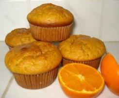 Muffiny mandarynkowe
