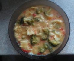 Kolorowa zupa