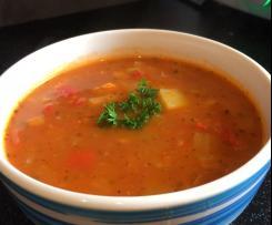 Dietetyczna zupa gulaszowa - drobiowa bez soli