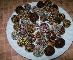 Popcakes cale czekoladowe