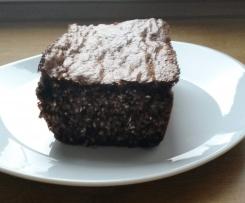 Czekoladowe ciasto z otrębami gryczanymi