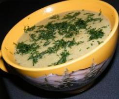 Zupa Krem brokułowa wg Dukana
