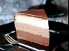 Tort Tricolada - 3 smaki delikatnego musu czekoladowego :)