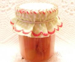 Dżem brzoskwiniowy z migdałami i amaretto