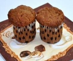 Muffiny orzechowo-czekoladowe
