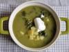 Zupa z brokułami i jarmużem