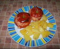 Pomidory nadziewane z ziemniaczkami