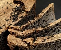chleb gryczany sezamowy (bezglutenowy, bezmleczny)