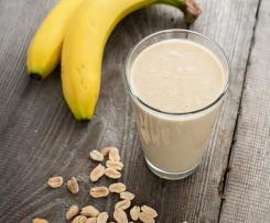 Koktajl banan-masło orzechowe