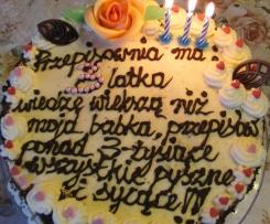 Urodzinowy tort ,, przepisowni ,,
