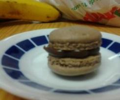 macarons (czekoladowe)
